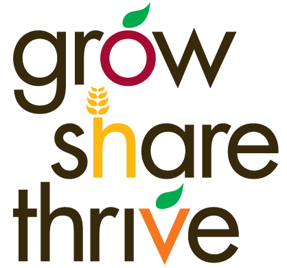 Grow Share Thrive campaign logo